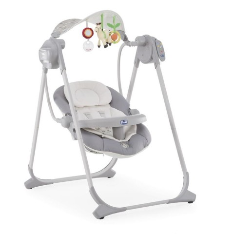 Chicco: Кресло-качалка Polly Swing Up Silver