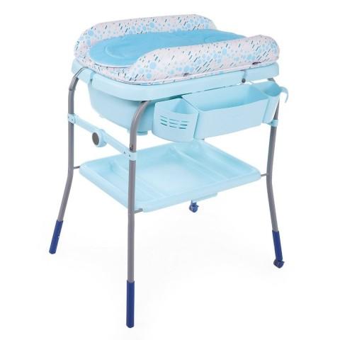 Столик для пеленания + ванночка Chicco, цвет - ocean