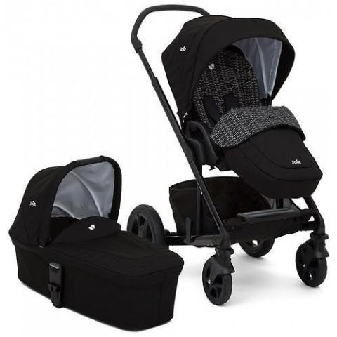 Детская коляска CHROME DLX 2 в 1, цвет-DOTS