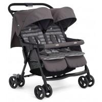 Прогулочная коляска Joie Aire Twin Stroller, цвет - Dark Pewter