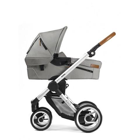 Детская коляска Mutsy EVO 2 в 1 Urban Nomad, цвет- Light grey-side