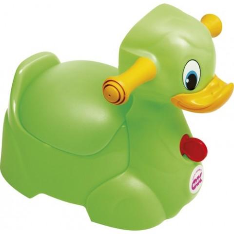 Детский горшок Okbaby Quack Potty, цвет- Зеленый