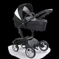 Детская коляска 2в1 Mima Xari, цвет - Black and White