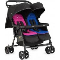 Прогулочная коляска Joie Aire Twin Stroller, цвет - Pink & Blue