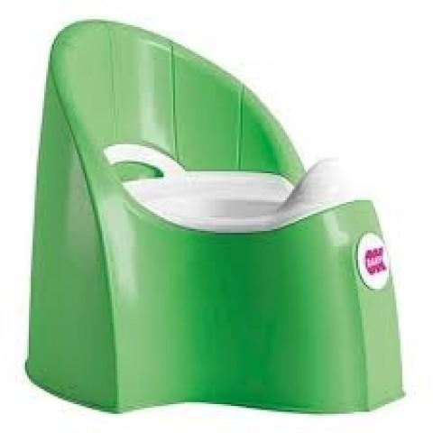 Детский горшок OK Baby Pasha Potty , цвет- Зеленый