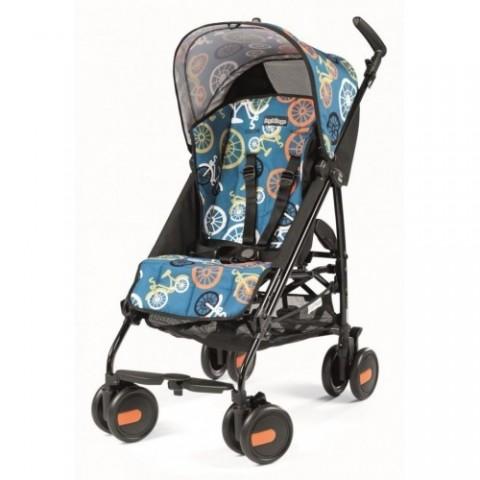Детская коляска-трость Peg-Perego Pliko Mini, цвет-Bikes color