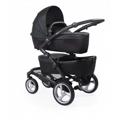 Детская коляска для двойни Mima Kobi Twin Seat, цвет-Black