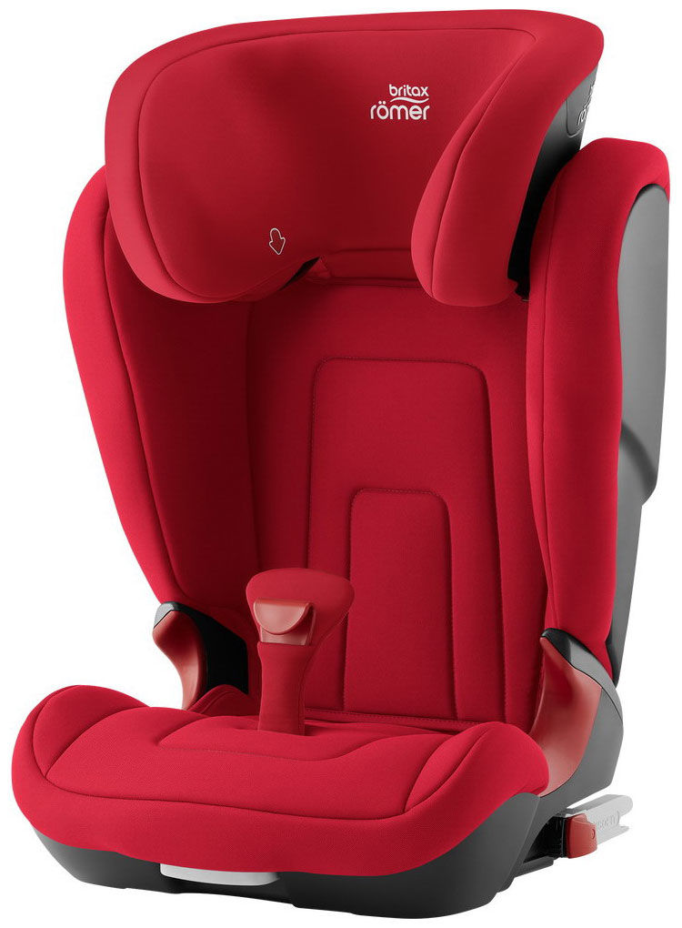 Автокресло Britax Roemer Kidfix2 R, цвет -  fire red tr...
