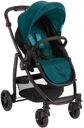 Коляска 3в1 Graco EVO Trio Harbor Blue