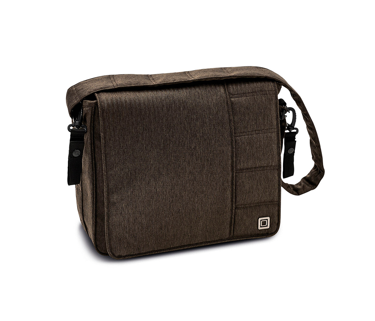 Сумка для мамы Moon Messenger Bag,цвет - brown fishbon...