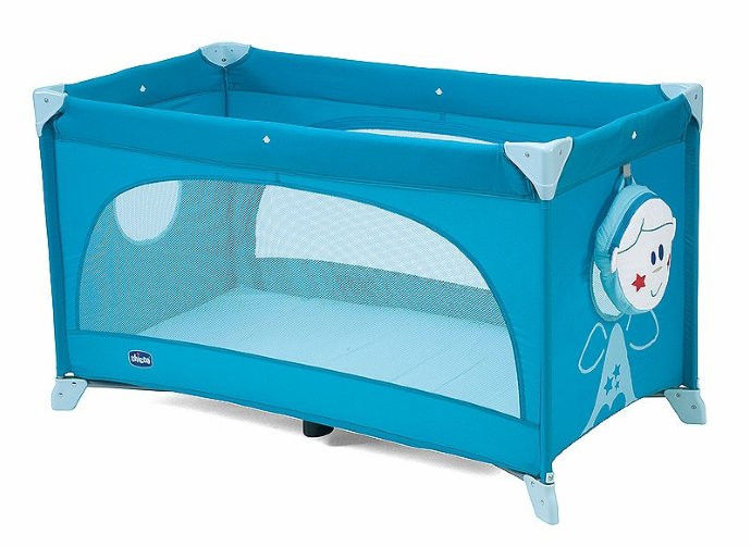 Манеж Chicco Easy Sleep, цвет-Blue