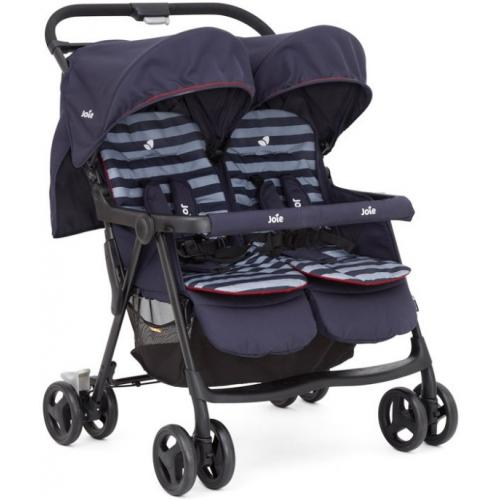 Joie Aire Twin Stroller, цвет - Nautical navi